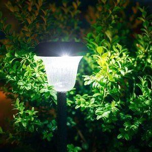 lamparas de jardin